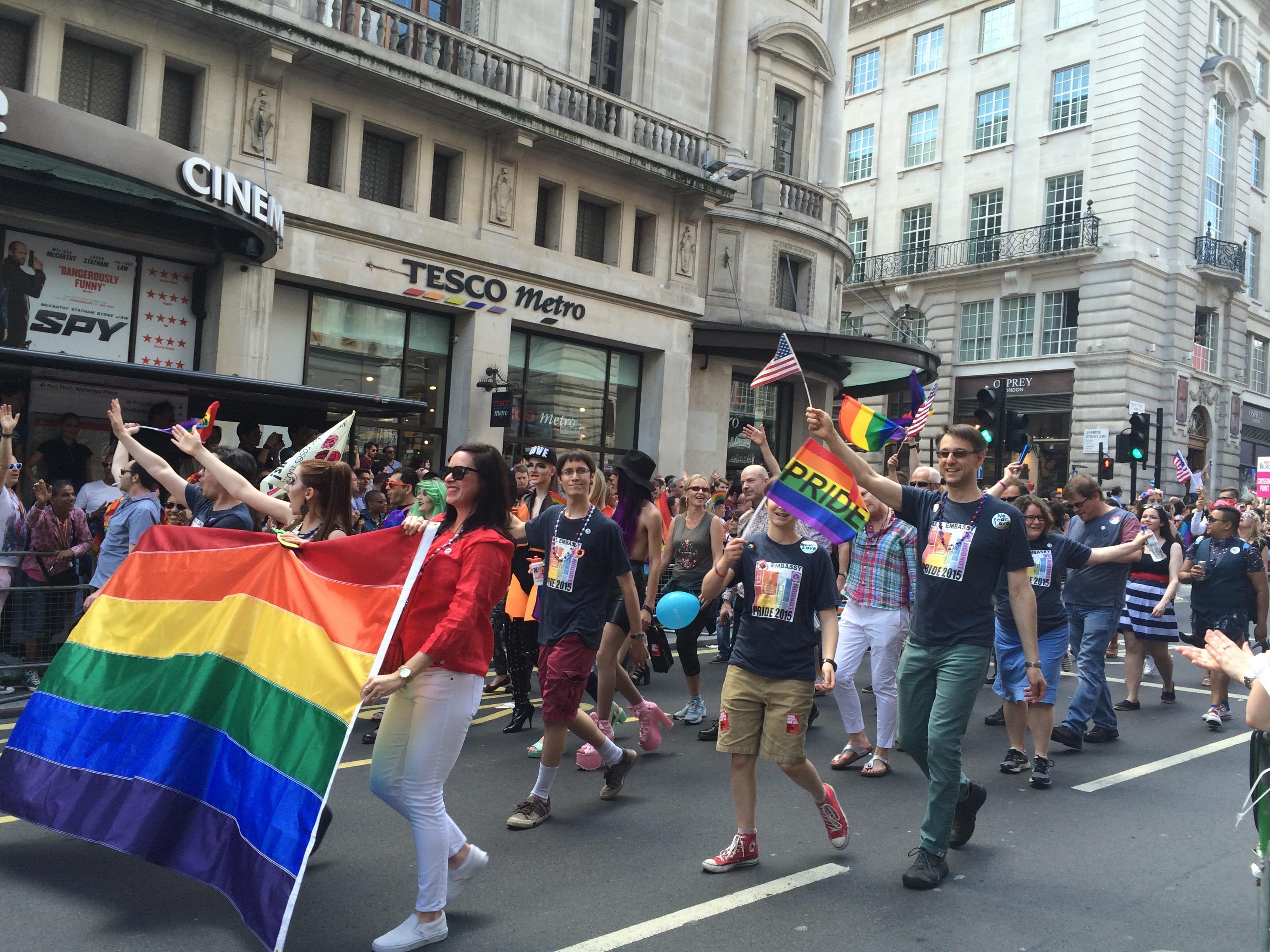 Pride Week in London