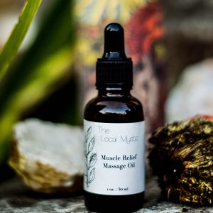 muscle relief massage oil