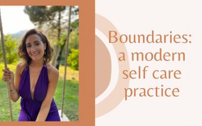 Boundaries: a modern self-care practice