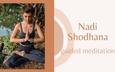Nadi Shodhana : guided meditation