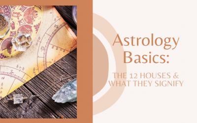Astrology Basics : the 12 houses