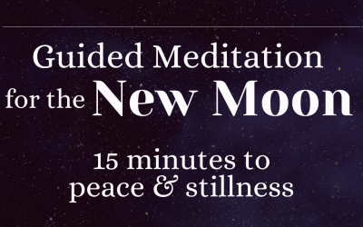 New Moon Meditation Ritual: 15 Minute Guided Meditation for Peace