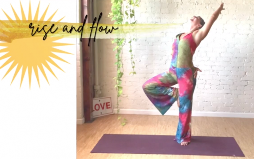 Rise and Flow Vinyasa with Jen Haddix
