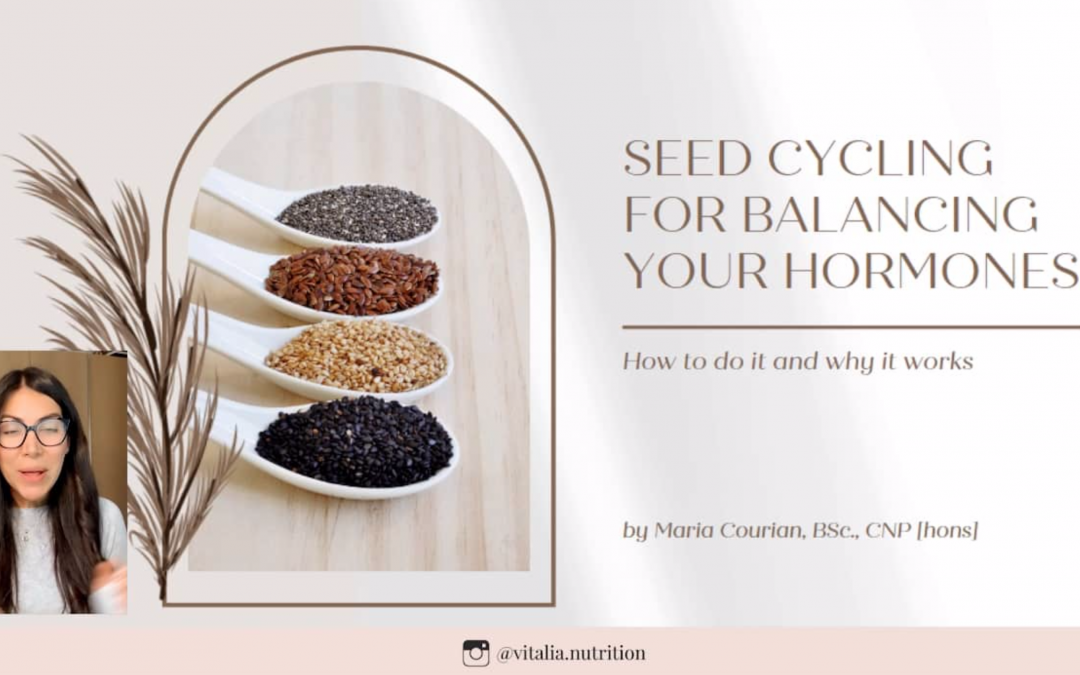 Seed Cycling: The Most Natural Practice to Balance Your Hormones